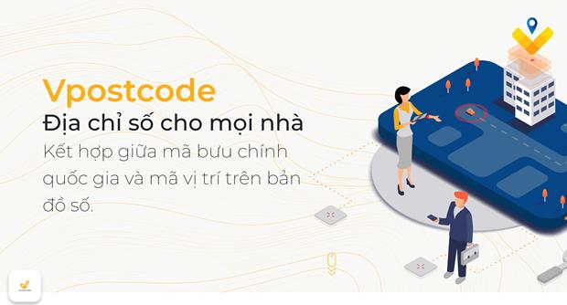 Estrena Vietnam plataforma de codigo postal Vpostcode hinh anh 1