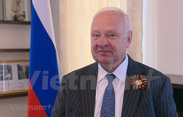 Embajador ruso: Victoria sobre el fascismo, hazana de los pueblos progresistas hinh anh 1