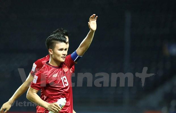 Gol de futbolista vietnamita entre los cinco mejores de AFC hinh anh 1