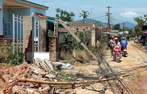 Desastres naturales provocan graves perdidas en las localidades vietnamitas hinh anh 1