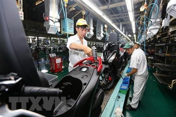 Caen ventas de automoviles y motocicletas de Honda Vietnam hinh anh 1