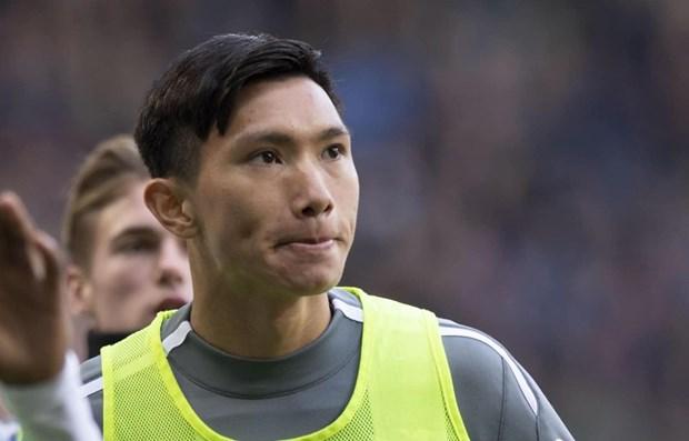 Discutiran contrato de defensor vietnamita con el club holandes Heerenveen hinh anh 1