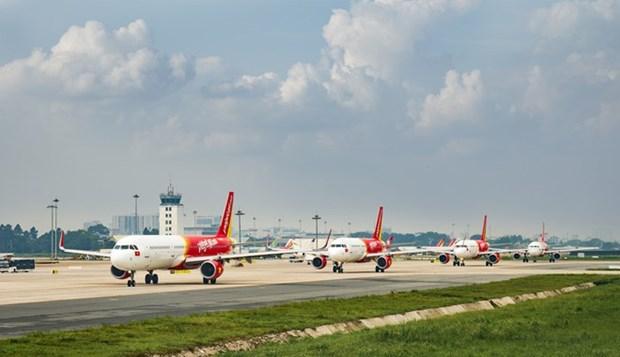 Vietjet Air reabre todas sus rutas domesticas hinh anh 1