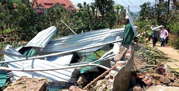 Apoyan a pobladores afectados por desastres naturales en Vietnam hinh anh 1
