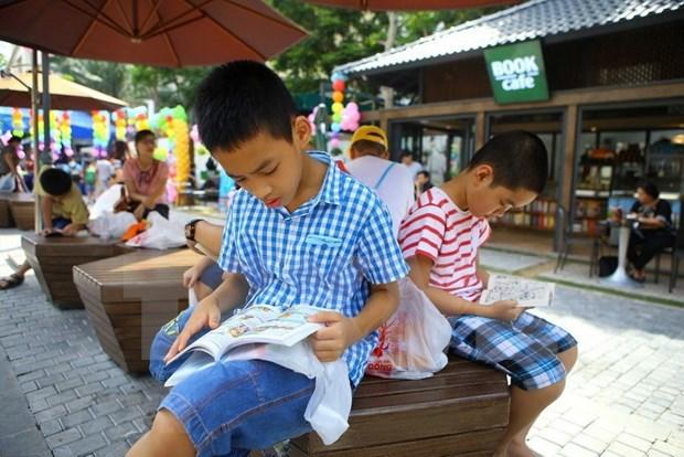 Despiertan el amor por la lectura en tiempo de epidemia hinh anh 1