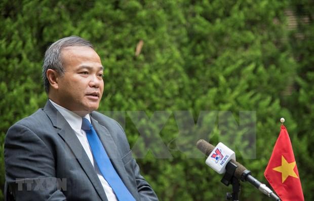 Vietnamitas en Japon mantienen unidos ante pandemia de COVID-19 hinh anh 1