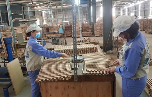 Empresas madereras de Vietnam logran sobrevivir en medio del COVID-19 hinh anh 1