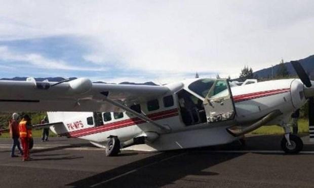 Fallece piloto indonesio por accidente aereo en provincia de Papua hinh anh 1