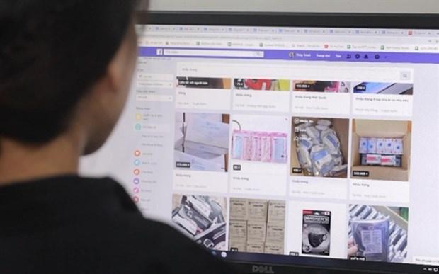 Comercio electronico en Ciudad Ho CHi Minh mantiene tendencia al alza hinh anh 1