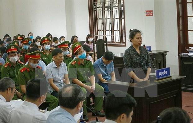 Comienza en Vietnam juicio de primera instancia sobre escandalo de fraude academico hinh anh 1