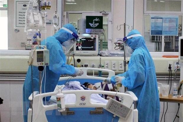 Vietnam realizara trasplante de pulmon para paciente britanico con COVID-19 hinh anh 1