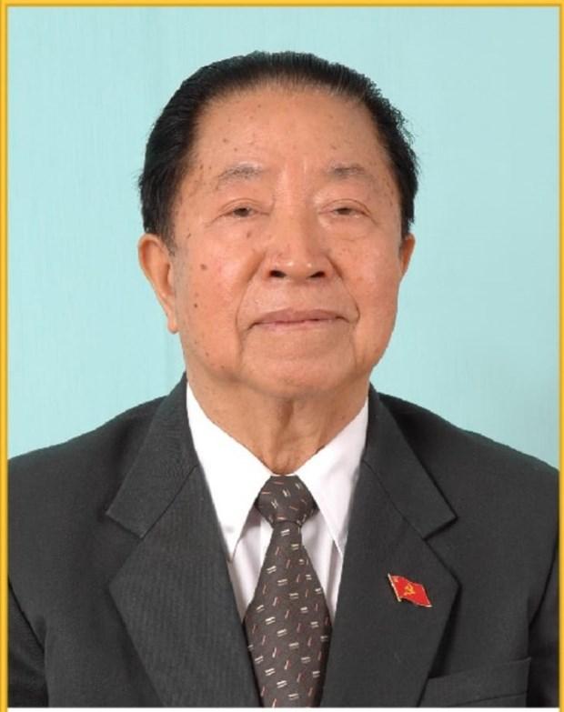 Expresa Vietnam solidaridad por fallecimiento de expremier de Laos hinh anh 1