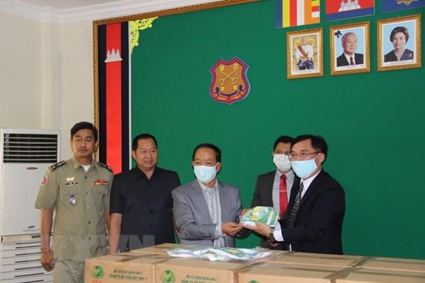 Apoya Vietnam a esfuerzos antiepidemicos en carceles de Camboya hinh anh 1