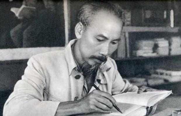 Presidente Ho Chi Minh, ejemplo brillante de la etica revolucionaria hinh anh 1