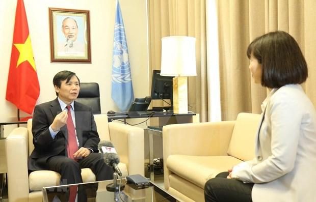 Vietnam reitera en la ONU su respaldo a Irak hinh anh 1