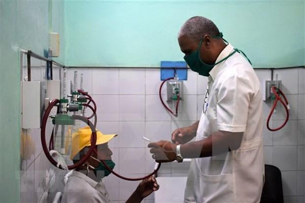 Entrega empresa vietnamita donacion a medicos cubanos hinh anh 1