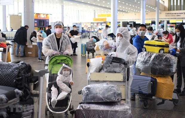 Repatrian a ciudadanos vietnamitas en Rusia hinh anh 1
