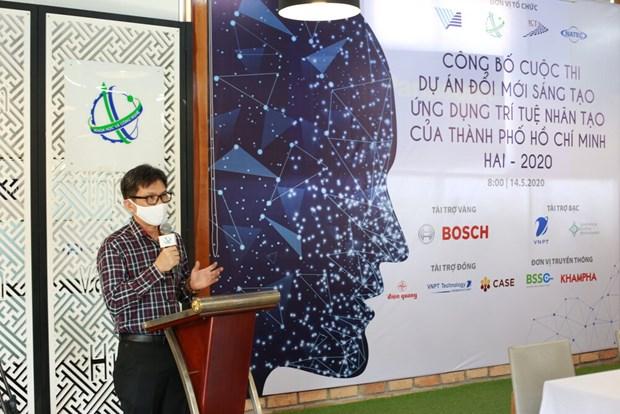Ciudad Ho Chi Minh lanza concurso de innovacion, creacion y aplicacion de inteligencia artificial hinh anh 1