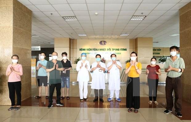 Recuperados el 90 por ciento de los pacientes de coronavirus en Vietnam hinh anh 1