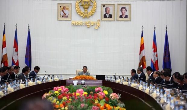Gabinete de Camboya acuerda proyecto de ley contra lavado de dinero hinh anh 1