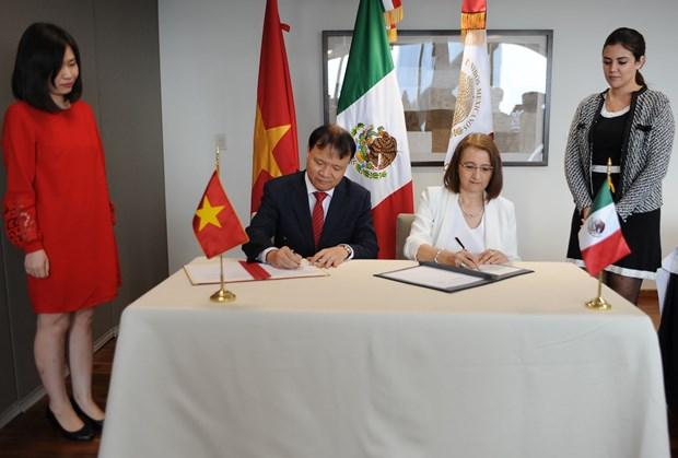 Mexico y Vietnam, 45 anos de amistad y solidaridad hinh anh 3