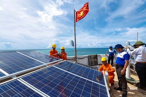 Construiran planta de energia solar en la isla vietnamita de Con Dao hinh anh 1
