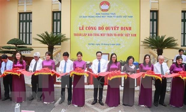 Inauguran en Hanoi museo de Frente de la Patria de Vietnam hinh anh 1