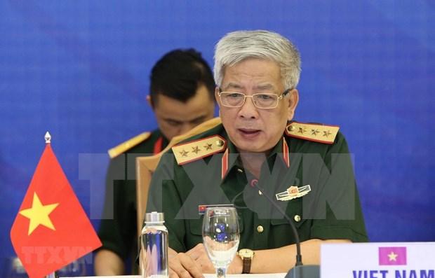 Propone Vietnam intensificar la conectividad de la ASEAN en lucha contra COVID-19 hinh anh 1