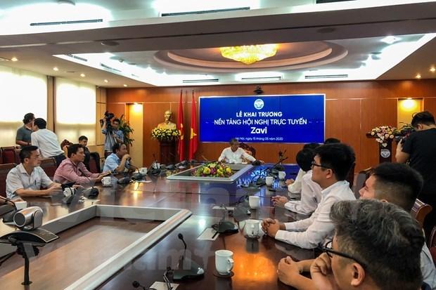 Lanzan en Vietnam primera plataforma de reuniones en linea hinh anh 1