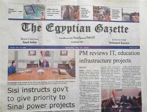 Prensa egipcia aprecia logros socioeconomicos y antiepidemicos de Vietnam hinh anh 1