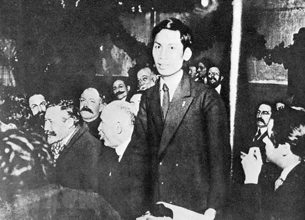 Ho Chi Minh, luchador por la felicidad del projimo hinh anh 1