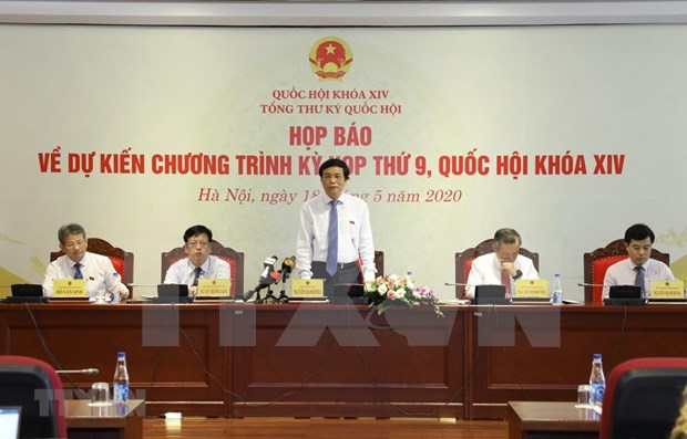 Parlamento de Vietnam inaugurara proximamente su IX periodo de sesiones hinh anh 1