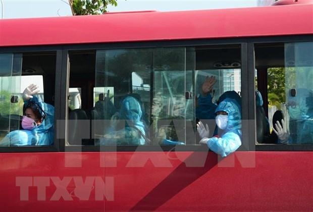 Repatriados cerca de 300 ciudadanos vietnamitas desde Tailandia hinh anh 1