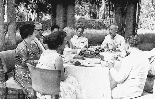 Pensamiento diplomatico del Tio Ho: legado invaluable de Vietnam hinh anh 1
