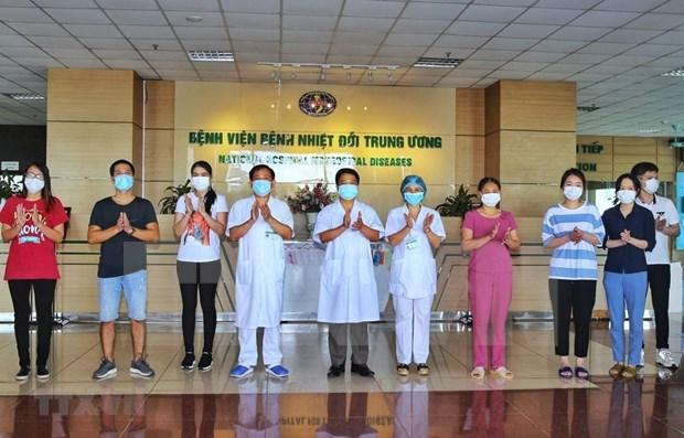COVID-19: Recuperados mas del 80 por ciento de los pacientes en Vietnam hinh anh 1