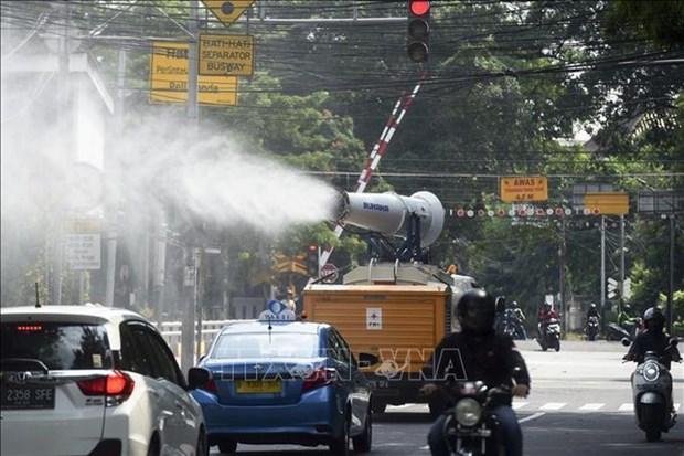 Indonesia descarta posibilidad de levantar restricciones contra COVID-19 hinh anh 1