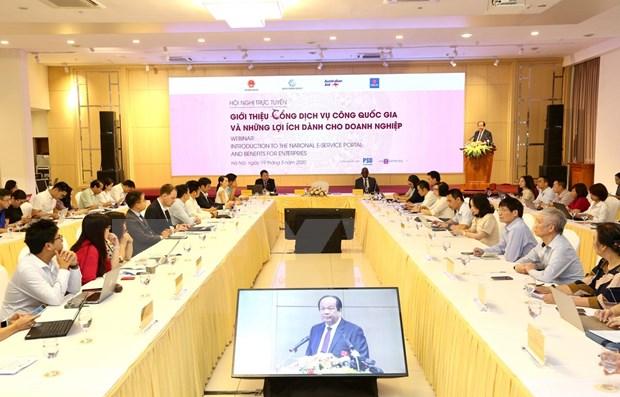 Presentan portal nacional de servicios publicos de Vietnam hinh anh 1