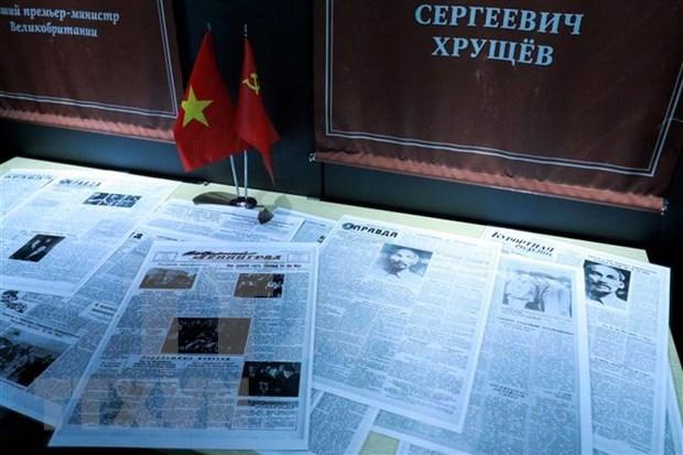 Exhiben en museo ruso imagenes sobre Presidente Ho Chi Minh y Vietnam hinh anh 1