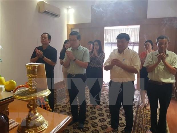 Efectuan en Myanmar coloquio sobre las actividades del Presidente Ho Chi Minh en el Sudeste Asiatico hinh anh 1