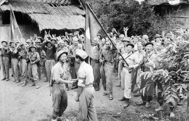 Victorias de la revolucion laosiana no pueden separarse de la revolucion vietnamita, afirma alta funcionaria hinh anh 1