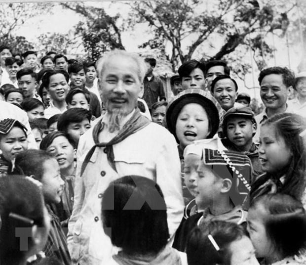 Venezolana de Television proyecta documental sobre el Presidente Ho Chi Minh hinh anh 1