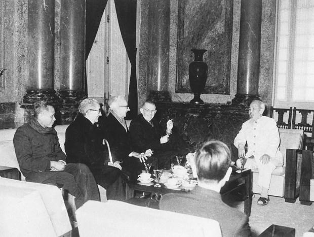 Efectuan coloquio en linea sobre el Presidente Ho Chi Minh en Estados Unidos hinh anh 1