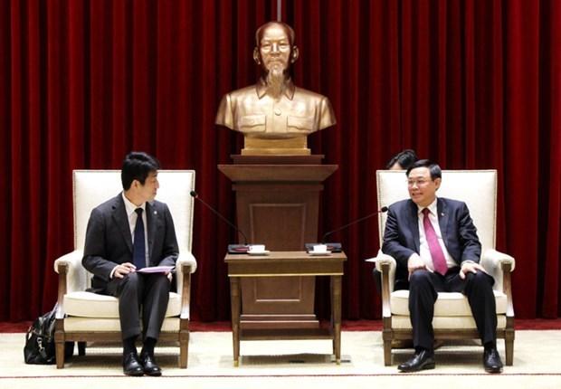 Recibe dirigente de Hanoi a director general de AEONMALL Vietnam hinh anh 1