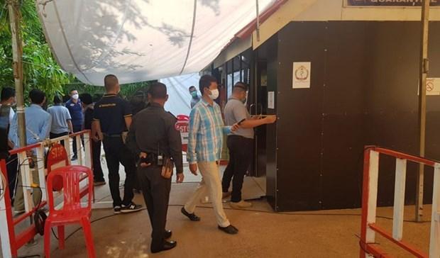 Tailandia reabre puerta fronteriza con Camboya para apoyo sanitario de emergencia hinh anh 1