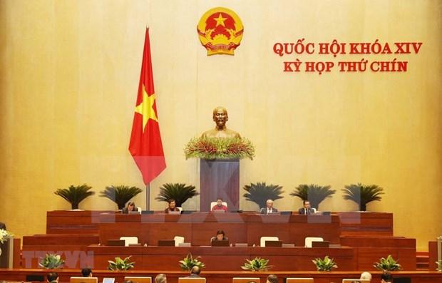 Inauguran noveno periodo de sesiones de la Asamblea Nacional hinh anh 1