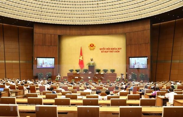 Concluye Parlamento de Vietnam primera jornada de su IX periodo de sesiones hinh anh 1