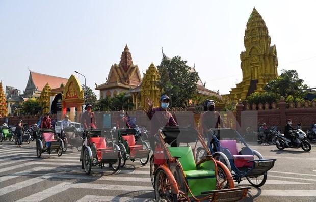 Camboya sancionara a restaurantes sin medidas preventivas contra el COVID -19 hinh anh 1