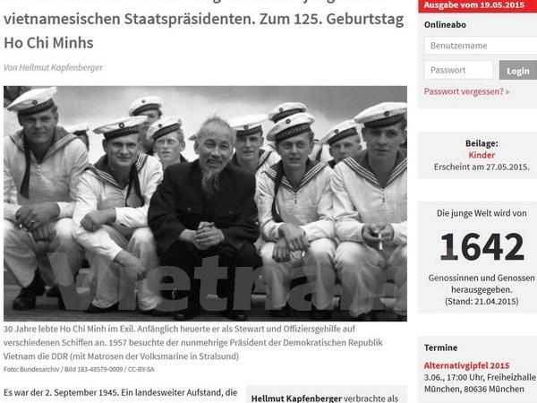 Medios internacionales destacan trascendencia del Presidente Ho Chi Minh hinh anh 1