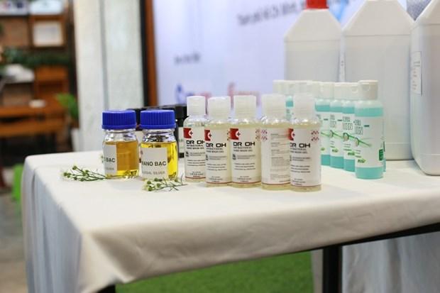 Exporta Vietnam gel desinfectante para manos a Europa, Estados Unidos y Canada hinh anh 1