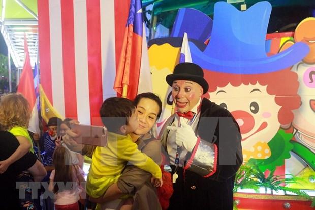 Celebrara provincia de Quang Ninh gala circense de regiones vietnamitas hinh anh 1